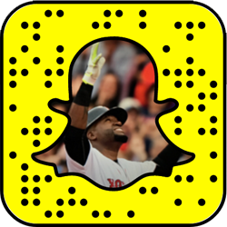 Boston Red Sox snapchat