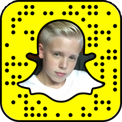Carson Lueders Snapchat username