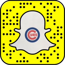 Chicago Cubs snapchat