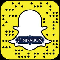 Cinnabon snapchat