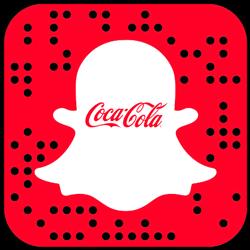 Coca-Cola snapchat