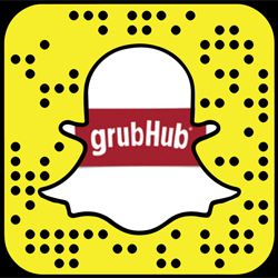 Grubhub snapchat