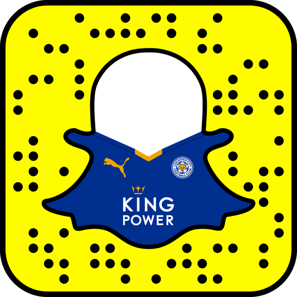 Leicester City F.C. Snapchat username