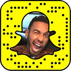 Lewis Hamilton Snapchat username