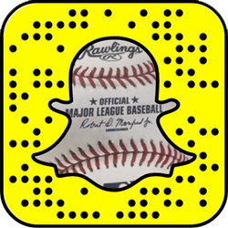 Major League Baseball snapchat