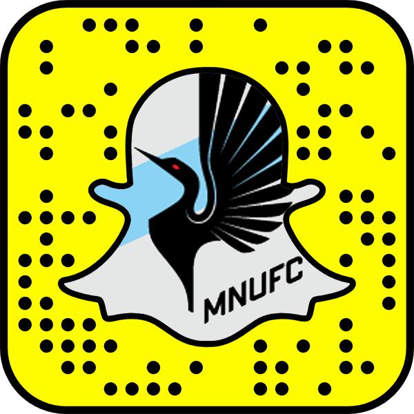 Minnesota United FC Snapchat username