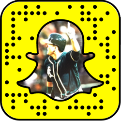 Oakland Athletics snapchat