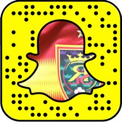 Real Salt Lake Snapchat username