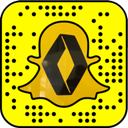 Renault snapchat