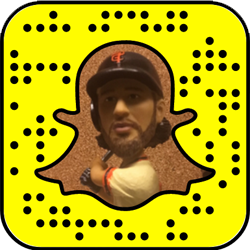 San Francisco Giants snapchat