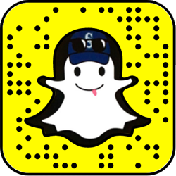 Seattle Mariners snapchat