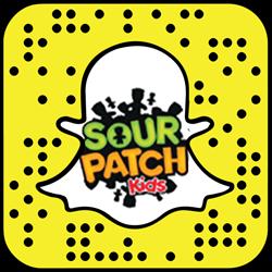 Sour Patch Kids snapchat